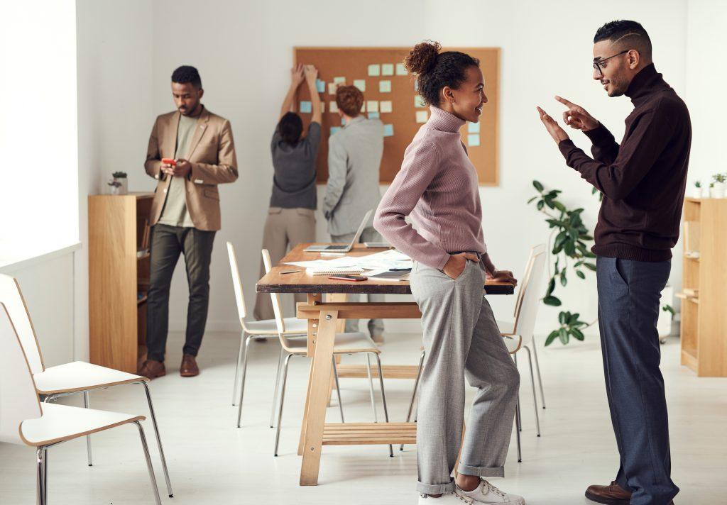 relantionship between coworkers
